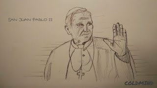 San Juan Pablo II, draw my life