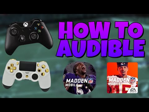 AUDIBLES ARE IN MADDEN MOBILE! MOST FEARED TOMORROW! CONTROLLER SUPPORT!? MADDEN MOBILE 20!