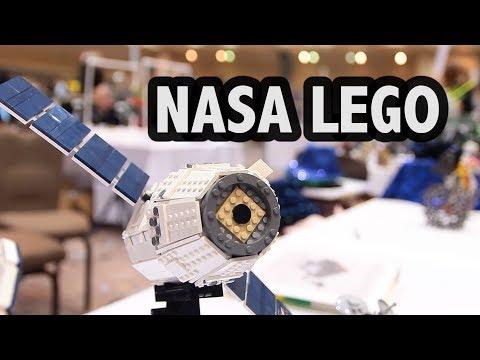 NASA Engineer Creates Amazing LEGO Spacecraft