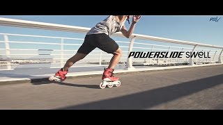 Morning workout with Powerslide Swell Fitness Inline Skates