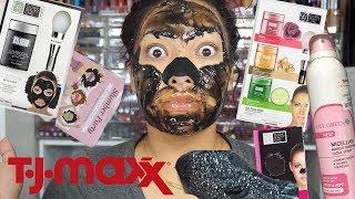 TJMAXX Finds/Haul! Makeup Remover Spray! Face Gel Masks! & Nose Strips