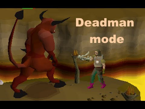 Deadman mode progress 1 - 4k gp for 300k range XP