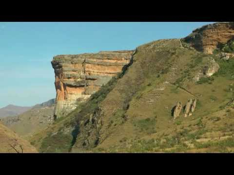 SOUTH AFRICA  golden gate highlands national park (hd-video)