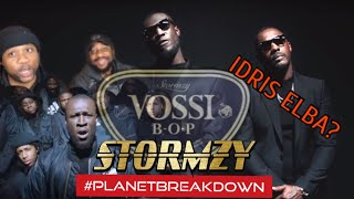 OUR FIRST TIME REACTING TO UK RAP !!   STORMZY X VOSSI BOP   REACTION   PLANET BREAKDOWN