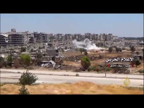 هجوم عنيف لقوات النظام على أطراف حي جوبر  - نشر قبل 4 ساعة
