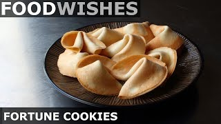 Make Your Own Fortune Cookies - Food Wishes