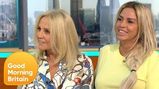 Katie Price Causes Havoc Arriving to the Studio | Good Morning Britain