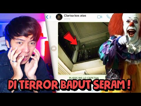 BADUT SERAM ITU TERNYATAAA... 🤡😱 | Chat History Horror Indonesia