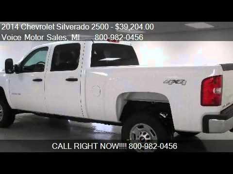 2014 chevrolet silverado 2500 ls 4x4 work truck crew cab for Voice motors kalkaska mi