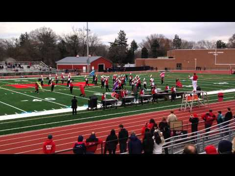 Rancocas Valley Regional High School Marching Band, November 27, 2014 Playoff Game Performance