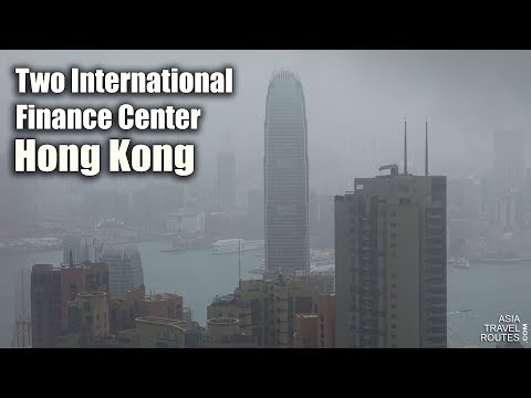 Two International Finance Center in Hong Kong