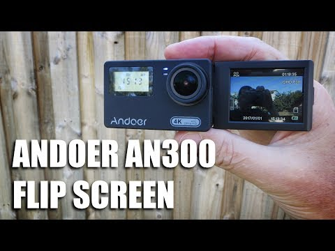 Andoer AN300 Flip Screen Action cam