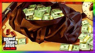 REICH WERDEN IN GTA ONLINE | TOP 5 MISSIONEN UM LEGAL SCHNELL VIEL GELD ZU MACHEN | WFG HD