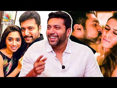 How Jayam Ravi's wife Aarthi reacted to his LOVE scenes : Adanga Maru Interview