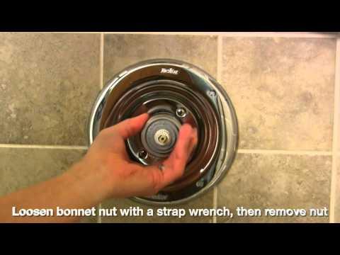 DIY - Fix Leaking Delta Series 17 Shower Faucet - YouTube
