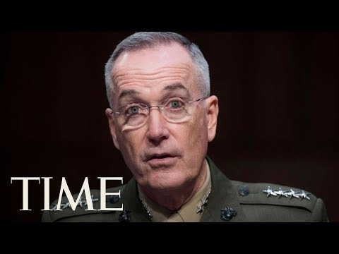 Gen. Joseph Dunford Addresses Army Deaths In Niger Amid Donald Trump Feud With Widow | TIME