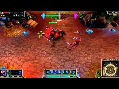 (OLD) Battlecast Alpha Skarner League of Legends Skin Spotlight