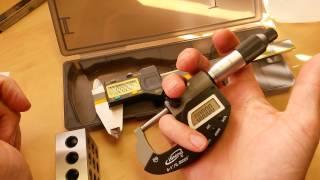 Digital Cailper Round-Up (:3:) Proper Use, Care & Measurement Techniques ~Digital Caliper Micrometer streaming
