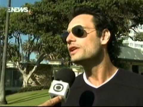 Entrevista Rodrigo Santoro nos EUA - Santa Monica (Globo News)