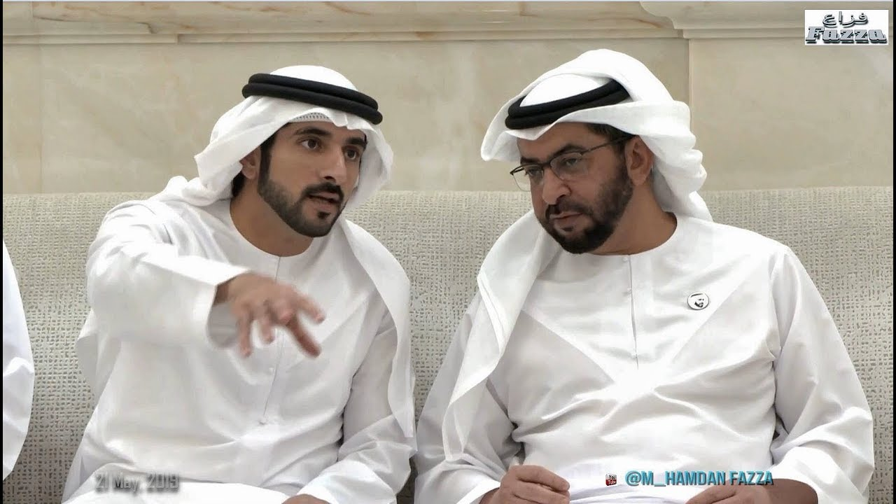 Mohammed Bin Rashid Sheikh Hamdan فزاع Fazza Meets With Mohamed Bin Zayed Youtube