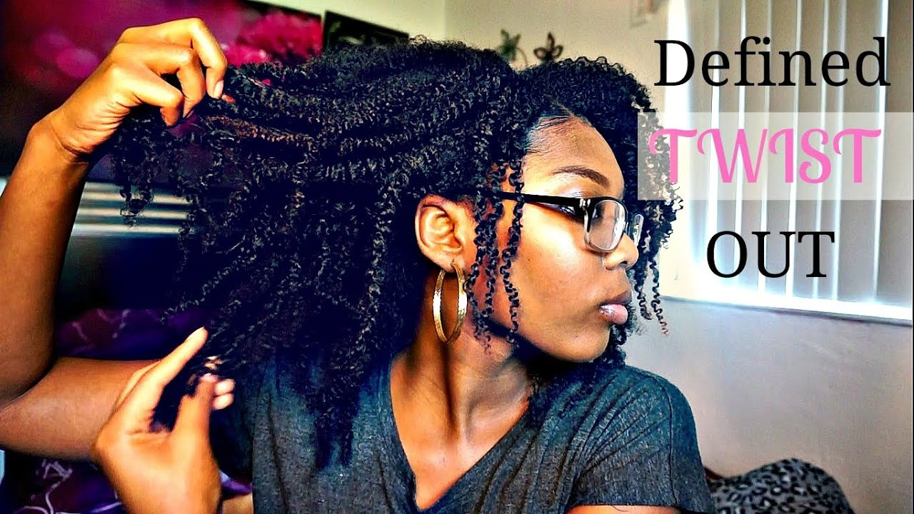 DEFINED Twist Out on 4a/b Hair Natural Hair - YouTube