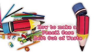 How To Make Pencil Case Out of Plastic Bottle Best Out of Waste | diy Craft Ideas