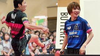 水谷隼&松平健太「Dream卓球!T3 in AEON MALL」in 越谷レイクタウン