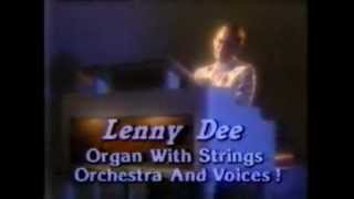 "1985 Lenny Dee: ""Melodies of Love"" Album commercial"