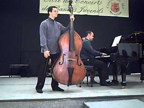 Dittersdorf Double bass concerto 3rd  mvt - Edicson Ruiz (Berliner Philarmoniker) Basilio Fernández