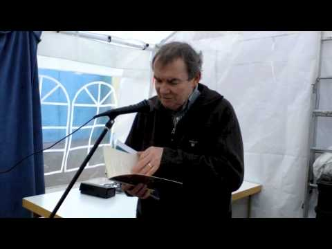 Thomas McCarthy poetry reading at the Youghal Moby Dick Literary Festival 2012