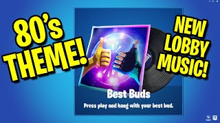 *NEW* LEAKED 80s THEMED Best Buds Lobby Music - Fortnite Season 9 80's Music