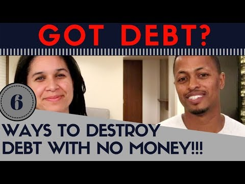 How to Pay Off Debt When You Have No Money - Financial Independence Journey