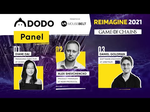 REIMAGINE 2021 - Dodo Panel : Scaling solutions to increase efficiency