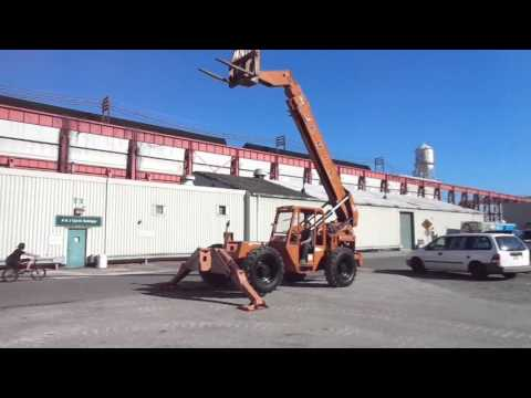 LULL 10,000 lbs Telescopic Forklift - www.ipsriggers.com Industrial Plant Service