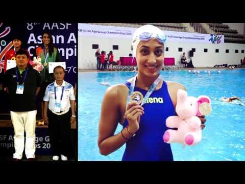 Mana Patel, swimmer from Gujarat talks about KMK & help rec'd from govt