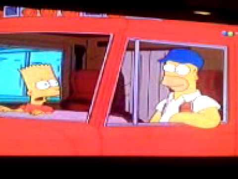 Homer Se Hace Camionero Ja Youtube