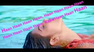 Dilbar dilbar ( Sirf Tum ) Free karaoke with lyrics by Hawwa -