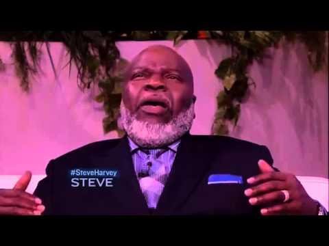 Bishop T D  Jakes and Steve Harvey discuss Instinct (The Power To Unleash  your Inborn Drive)