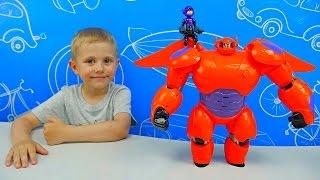 Робот БЭЙМАКС з мультика Місто Героїв і хлопчик Хіро - Big Hero Baymax with Hiro Action figure