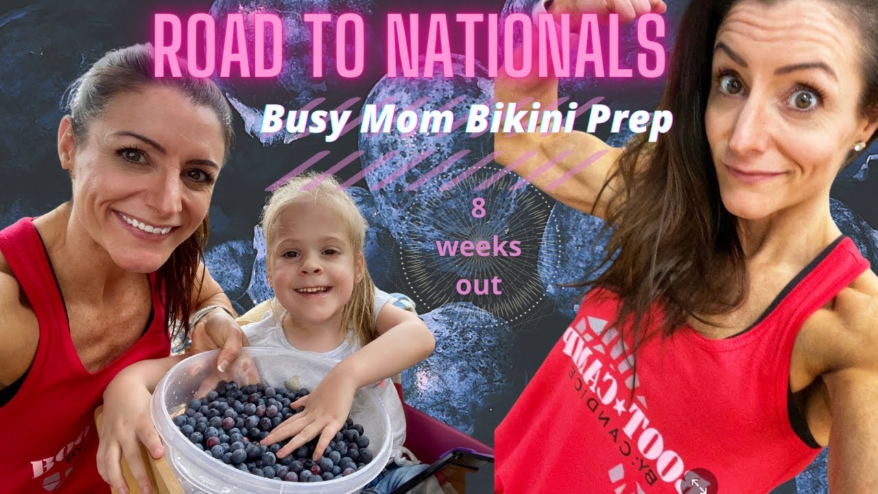 Road to Nationals | NPC Bikini Prep | Day in the Life | Meal Prepping for Work
