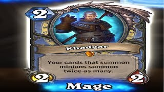 Hearthstone Rise of Shadows Card Pack Opening Maraads Luck