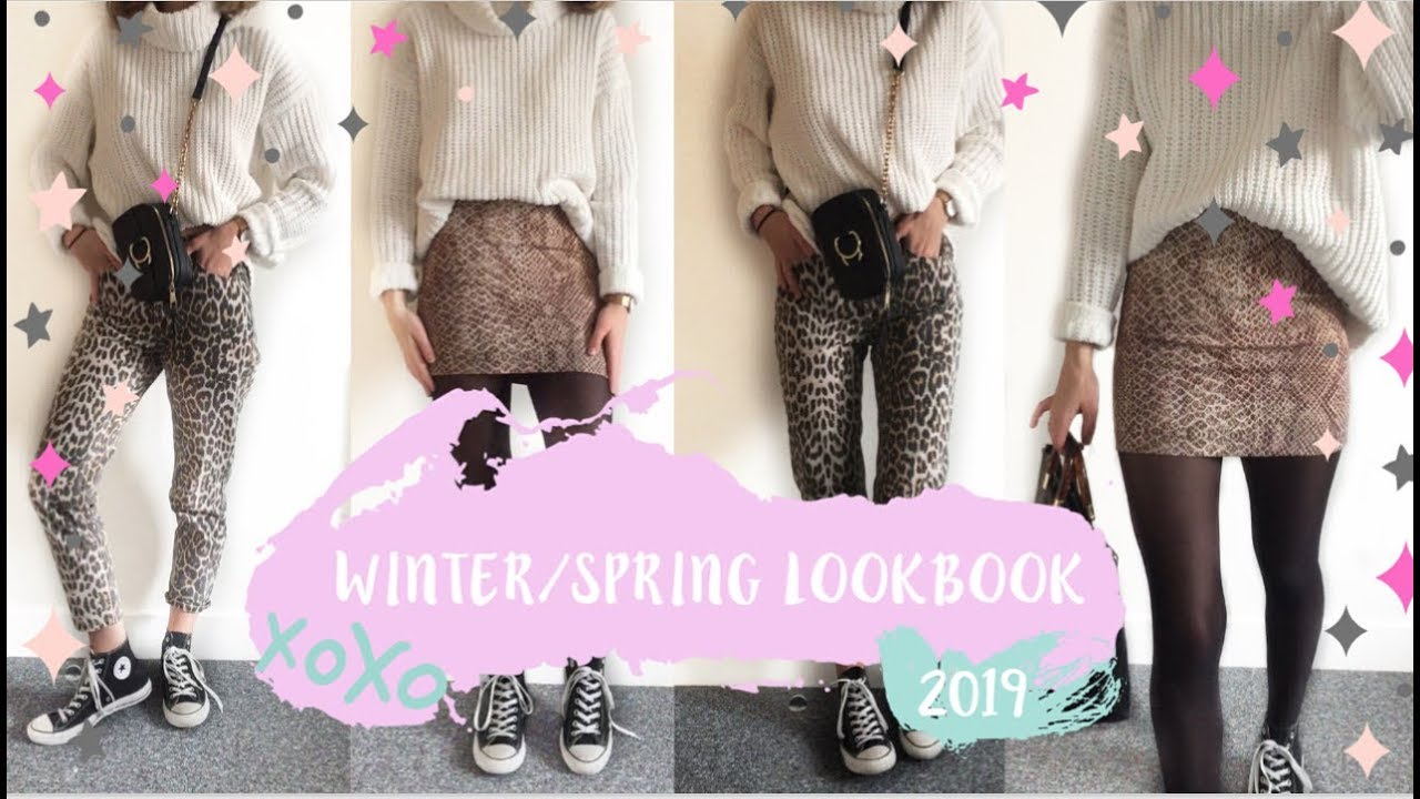 WINTER / SPRING OUTFIT IDEAS 2019  |  LOOKBOOK 4
