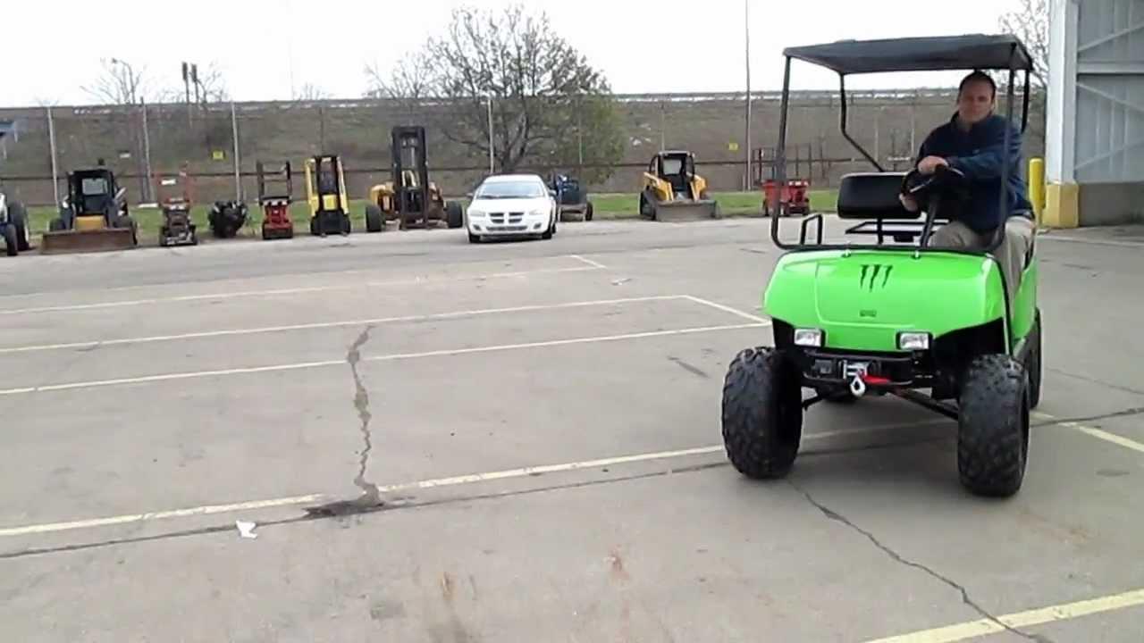 Reconditioned Yamaha G16 Golf Cart