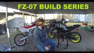 FZ-07 Build Series EP. 1! Cleaning Up The Looks!