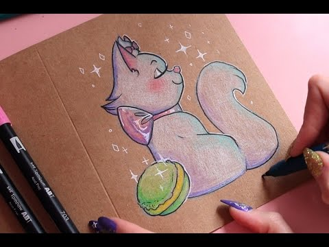 Greeting Card Thursday: Marie from The Aristocats (ASMR softly spoken)
