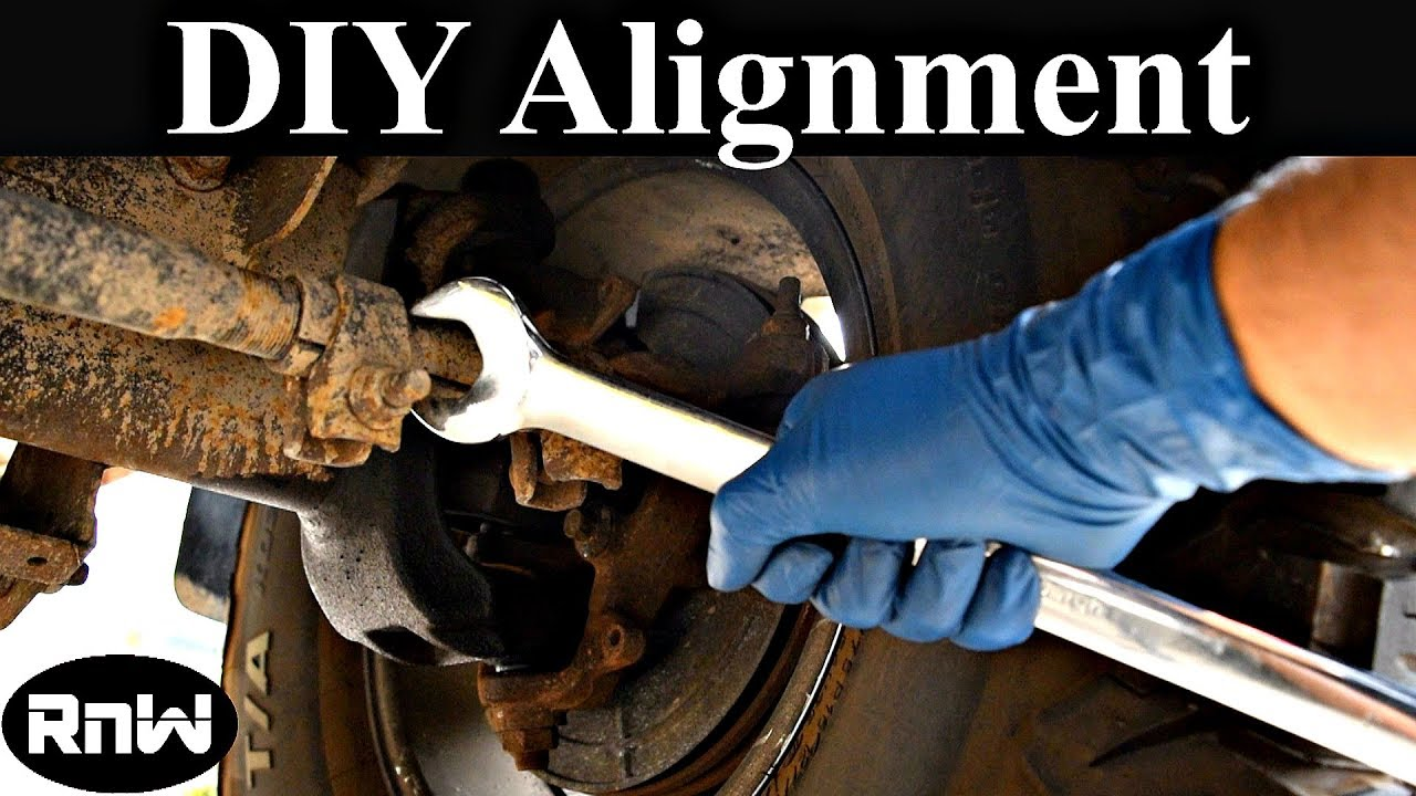 How To Perform A Front End Alignment Yourself Easy And Free Youtube