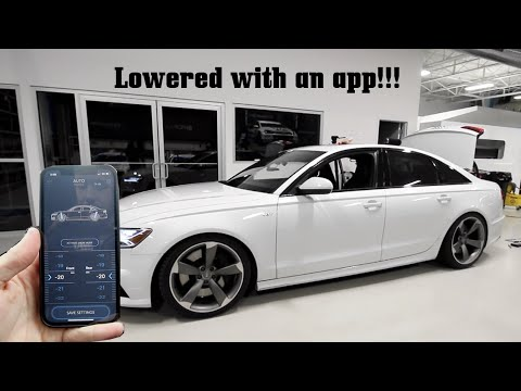 Controlling My Audi S6's Ride Height From an APP! (CETE Module Install DIY)
