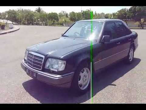 "W124 Mercedes benz Boxer Club Indonesia MBCI ""BK 3 WR Profile"""