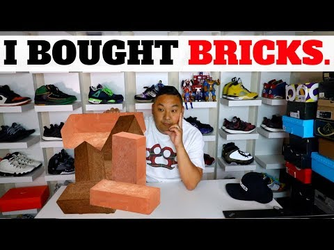 """I BOUGHT THESE """"BRICKS""""… New Sneaker Pickup"""