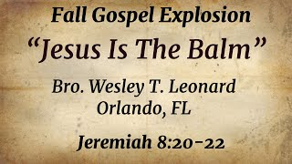 Fall Gospel Explosion - Wednesday Evening